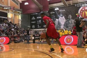 Andrew Wiggins shuts down 2013 McDonald's All-American dunk Contest (VIDEO)