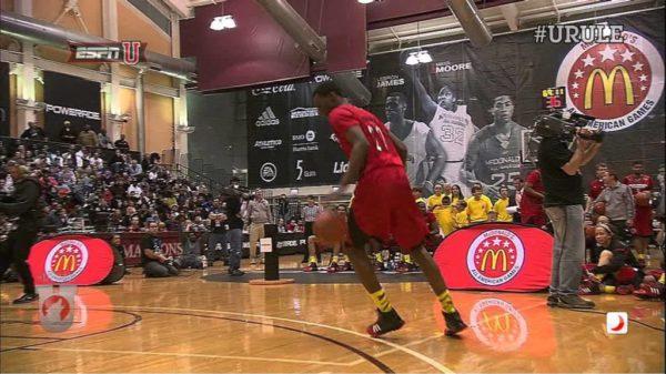 Andrew Wiggins shuts down 2013 McDonald's All-American dunk contest
