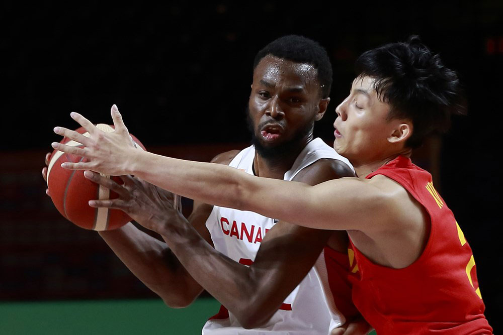 Andrew wiggins team canada overwhelms china in lopsided win at 2020 fiba olympic qualifying tournament
