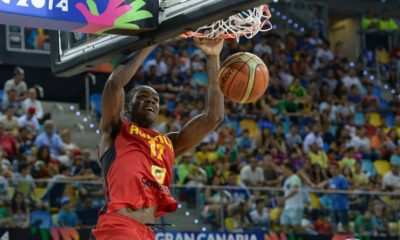 Angola's Yannick Moreira leaves marks all-over 2014 FIBA World Cup