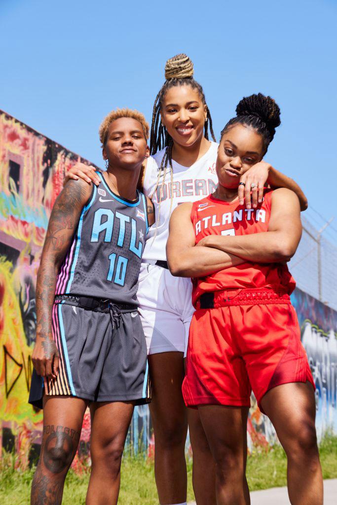 Atlanta Dream New 202 Nike Jerseys