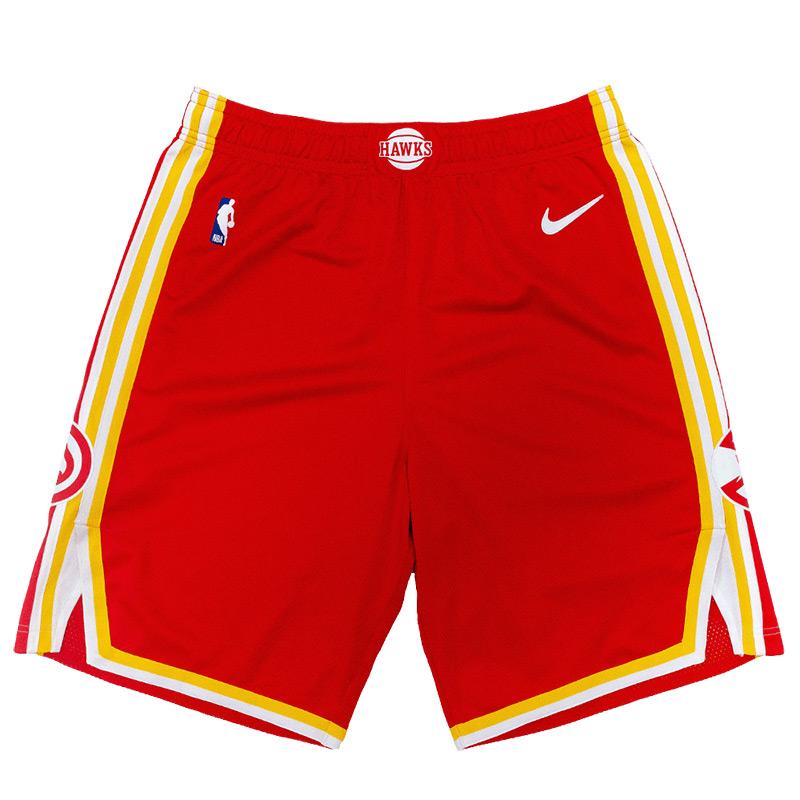 Atlanta Hawks 2021 Full Red Shorts