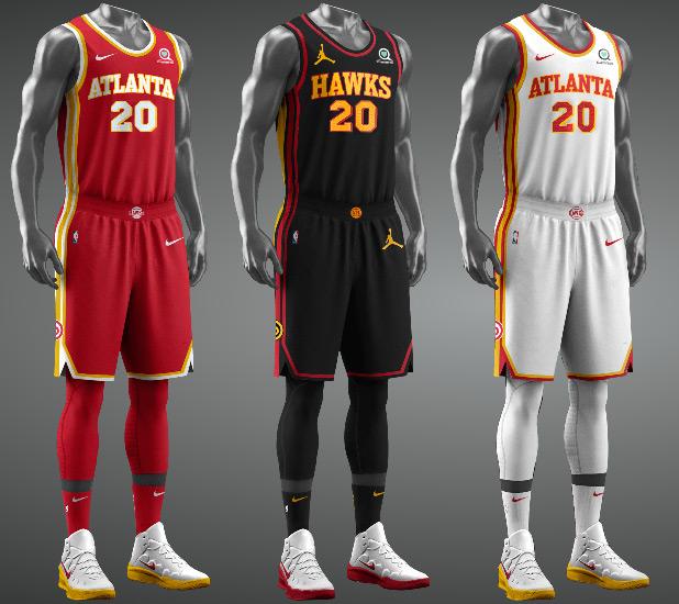 Atlanta Hawks Jerseys Full Kit