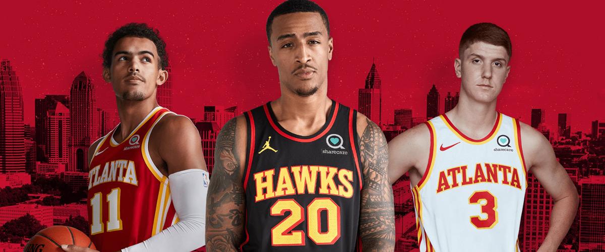 Atlanta Hawks Unveil True To Atlanta Jerseys