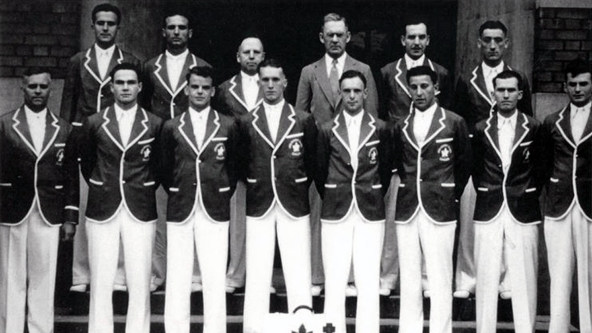 Windsor Ford V-8s represented Canada at the 1936 Olympic Games