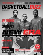 Basketballbuzz Magazine New Era Andrew Nicholson Cory Joseph Tristan Thompson Issue 1 Collectors Edition November 2012