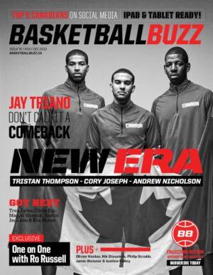 Basketballbuzz Magazine New Era Andrew Nicholson Cory Joseph Tristan Thompson Issue 1 Collectors Edition November 2012