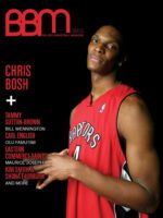 BBM - Ballerz Basketball Magazine - Issue #2 Cover - Chris Bosh -Toronto Raptors - NBA
