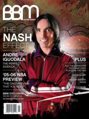 BBM – Ballerz Basketball Magazine - Steve Nash - Issue #3