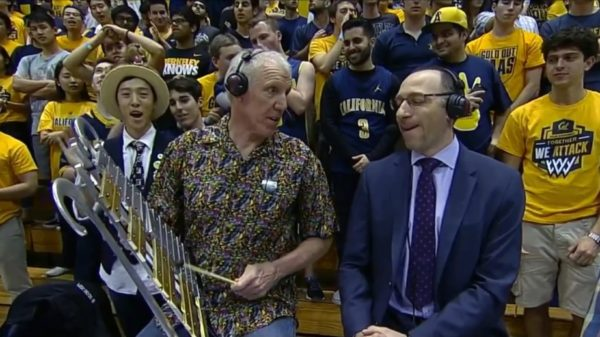 Bill Walton Plays The Glockenspiel