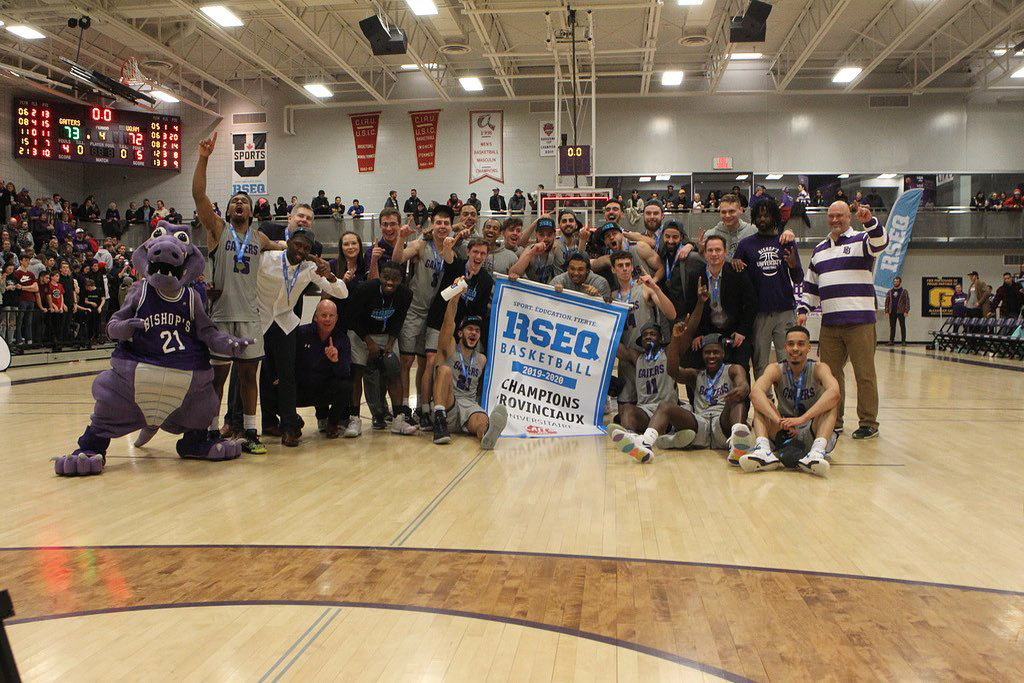 bishops gaiters 2020 rseq mens basketball champions