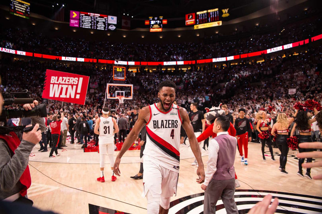 Blazers Win Damian Lillard Buries 37 Footer