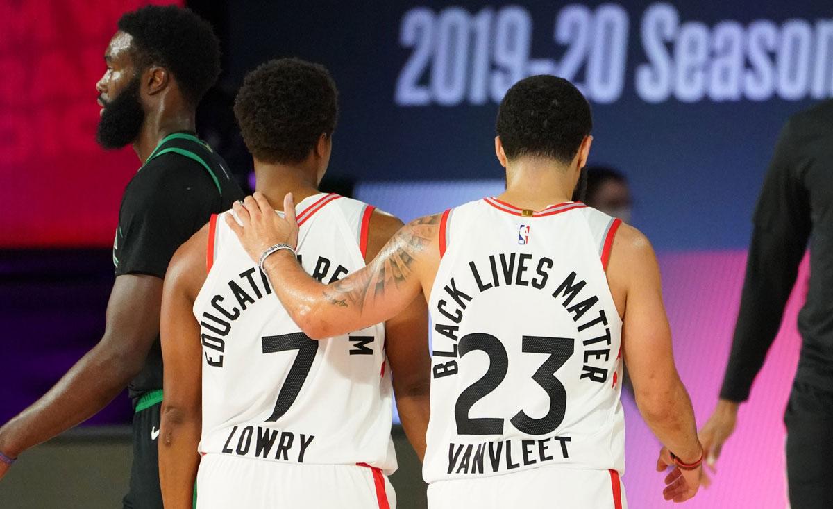 Boston Celtics put defending Champions Raptors in 0-2 NBA Playoffs series hole