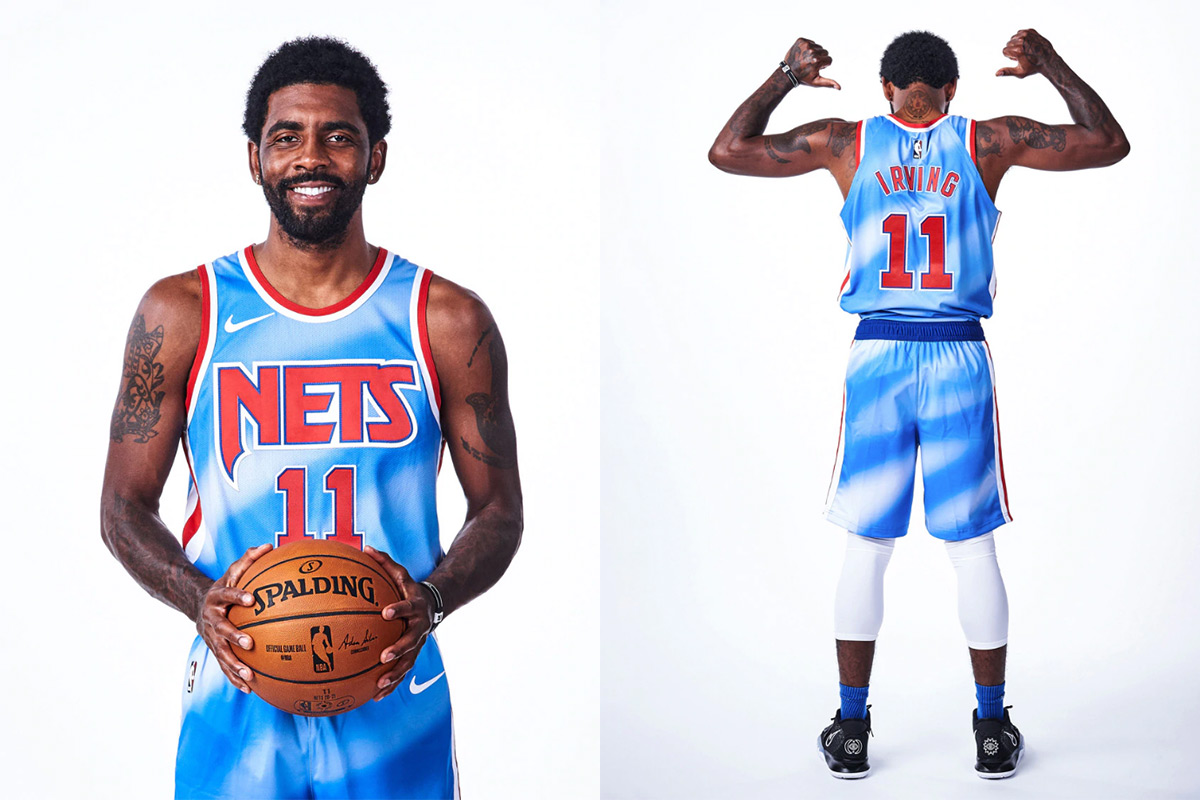 Brooklyn Boys Throw It Back To 90s Nets Classic Jersey