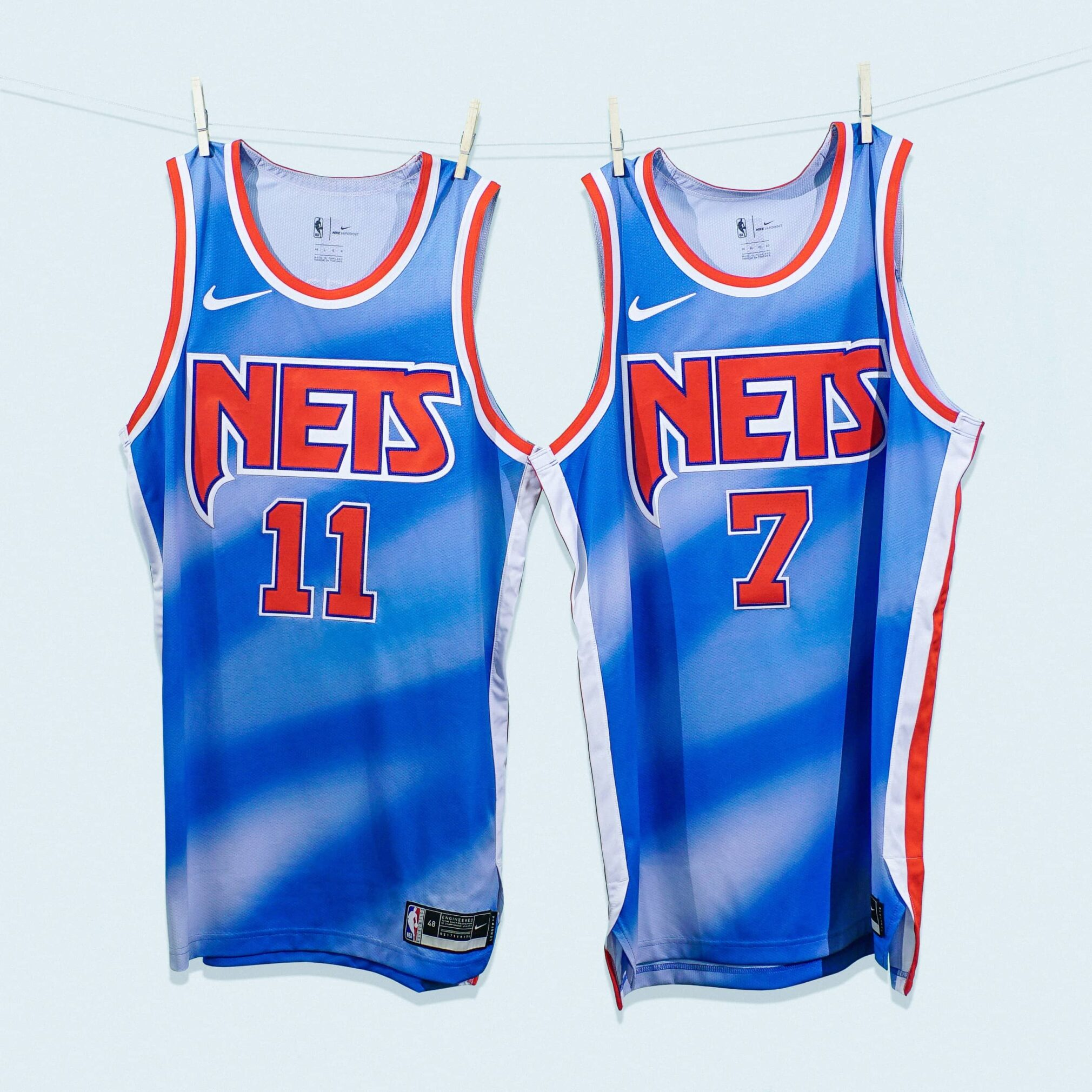 Brooklyn Nets Classic Edition Jersey Double Front