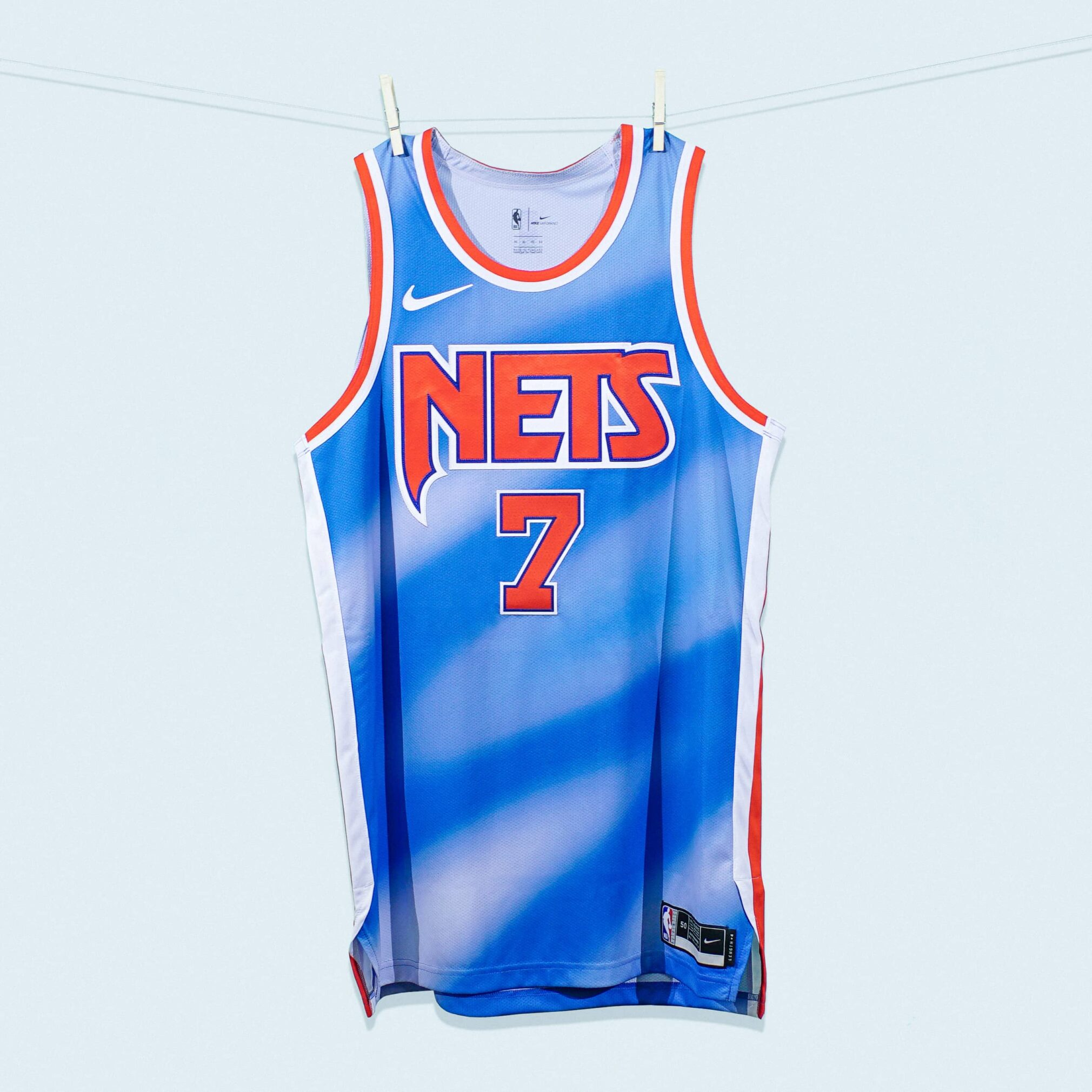 Brooklyn Nets Classic Edition Jersey Single Front