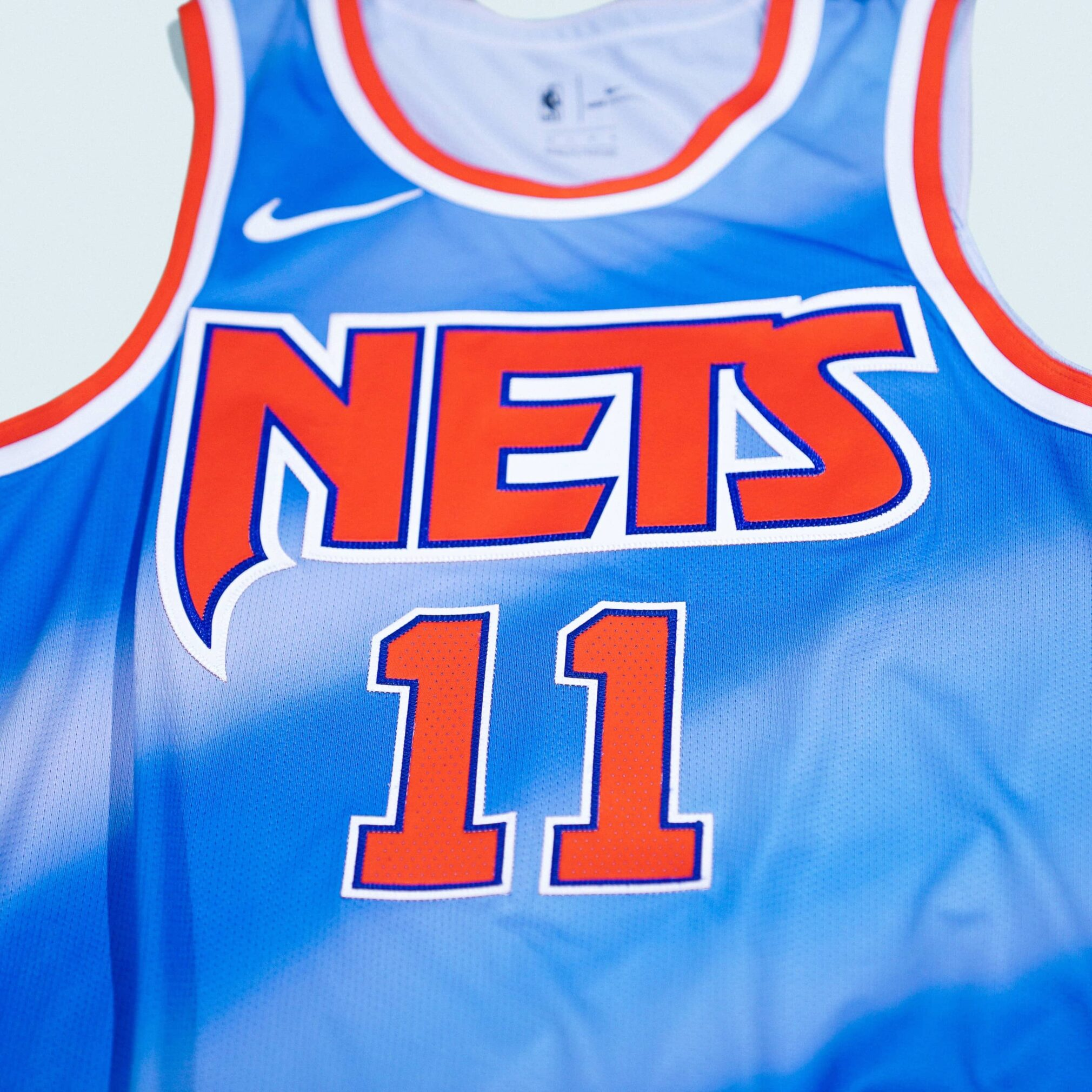 Brooklyn Nets Classic Edition Jersey Single Up Close