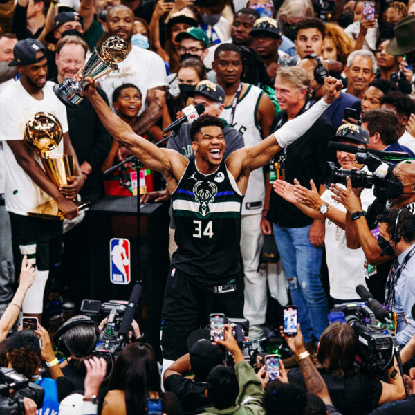 bucks in six giannis antetokounmpo 50 leads milwaukee to first championship in a half century