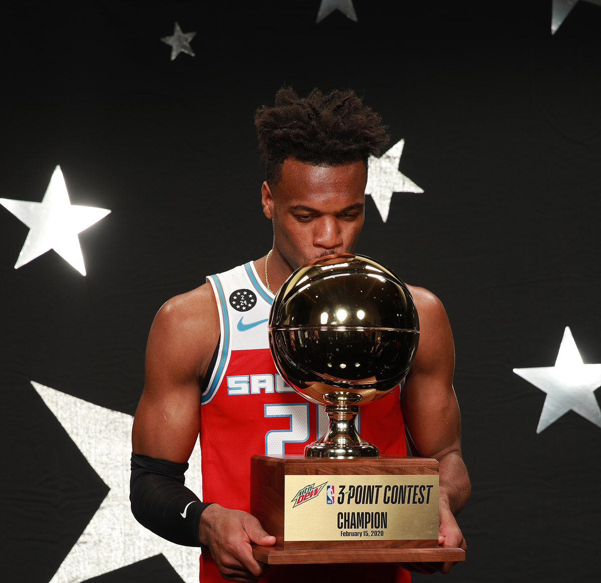 buddy heild 2020 nba all star three point contest nba champion