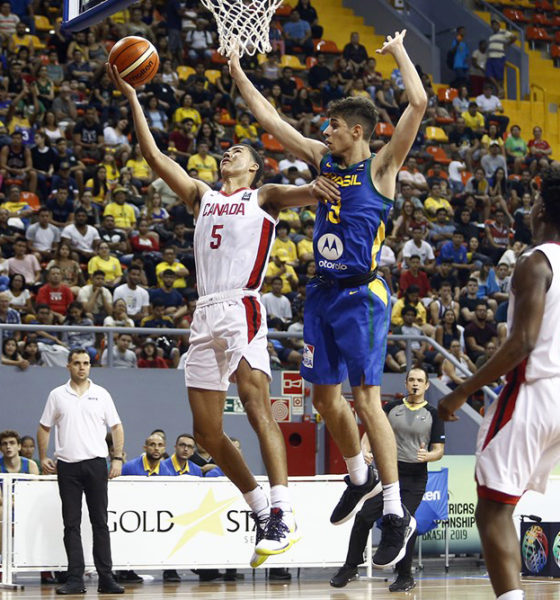 Caleb Houstan Double Double Too Much For Brazil At U16 Fiba Americas