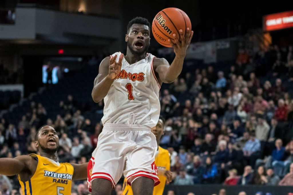 Calgary Dinos Mambi Diawara Game Winner Usports National Basketball Mens Championship