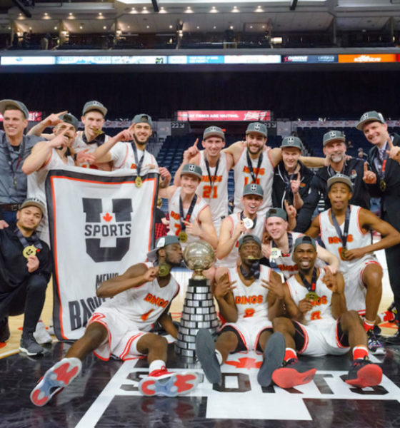 Calgary Dinos Win First Ever National Basketball Mens Championship