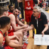 Canada Basketball Associate Head Coach Gordie Herbert Providing Instructions