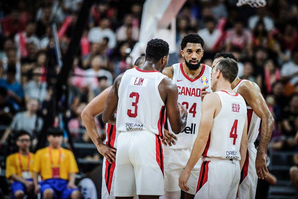 canada draws tough group for 2020 fiba olympic qualifier