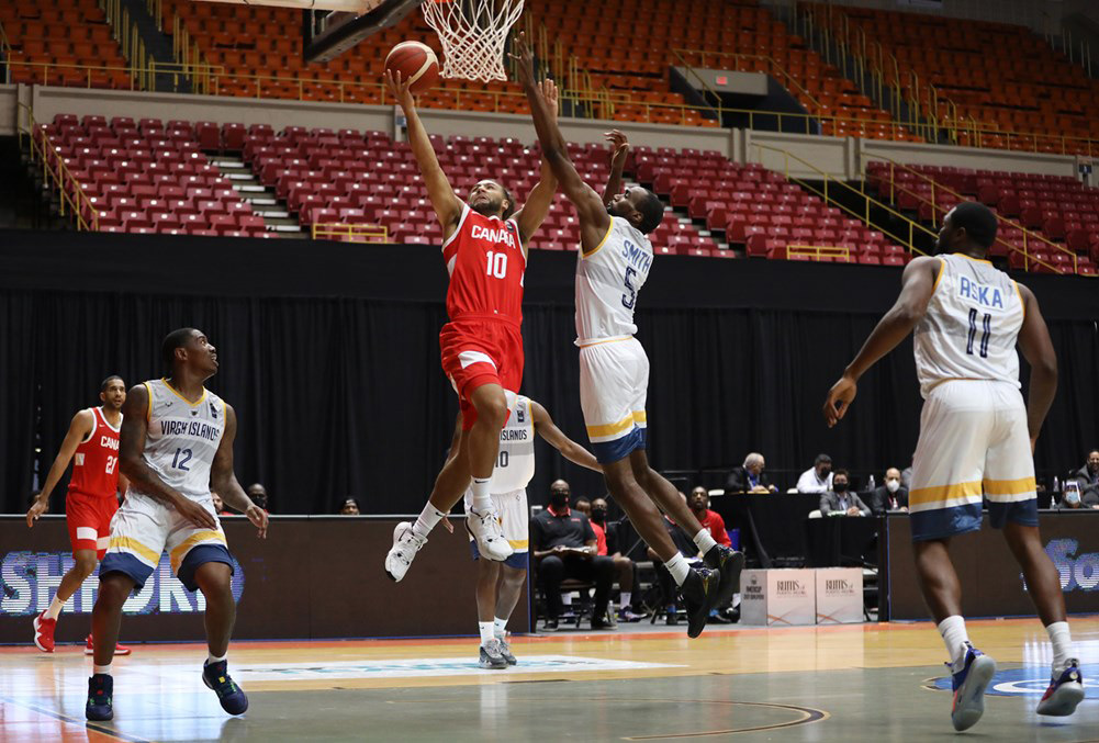 Canada Takes Down Us Virgin Islands At Fiba Americup 2022 Qualifiers