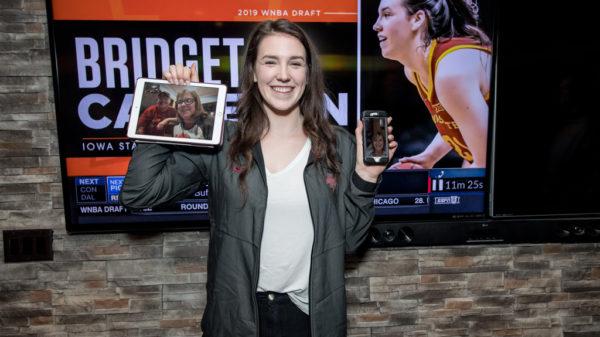 Canada's Bridget Carleton Selected 21st Overall WNBA Draft