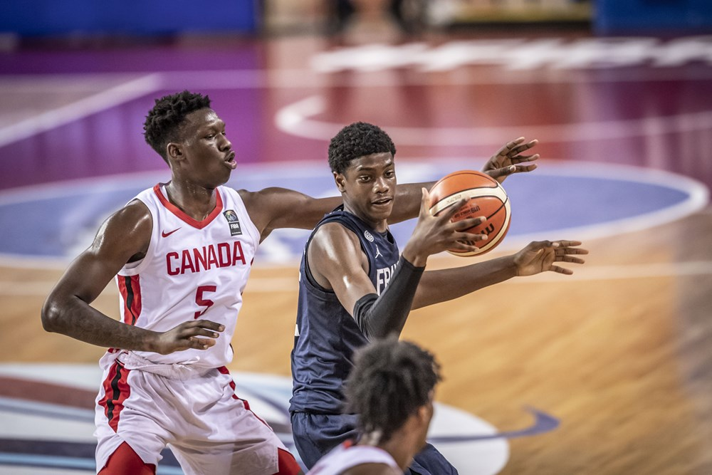 Canadas Tyrese Samuel France Slips Past Canada At 2019 Fiba U19 World Cup