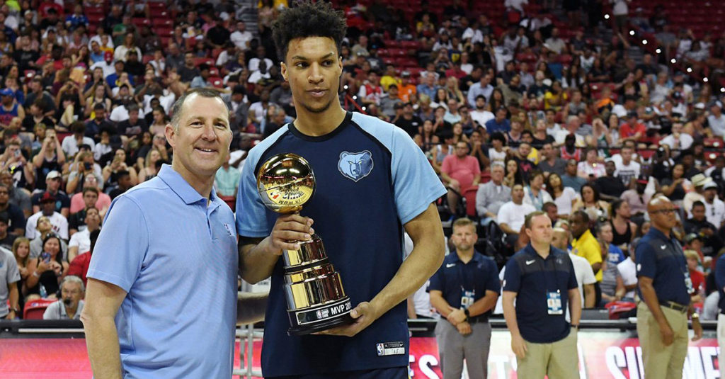 Canadian Basketball Player Brandon Clarke 2019 Nba Summer League MVP