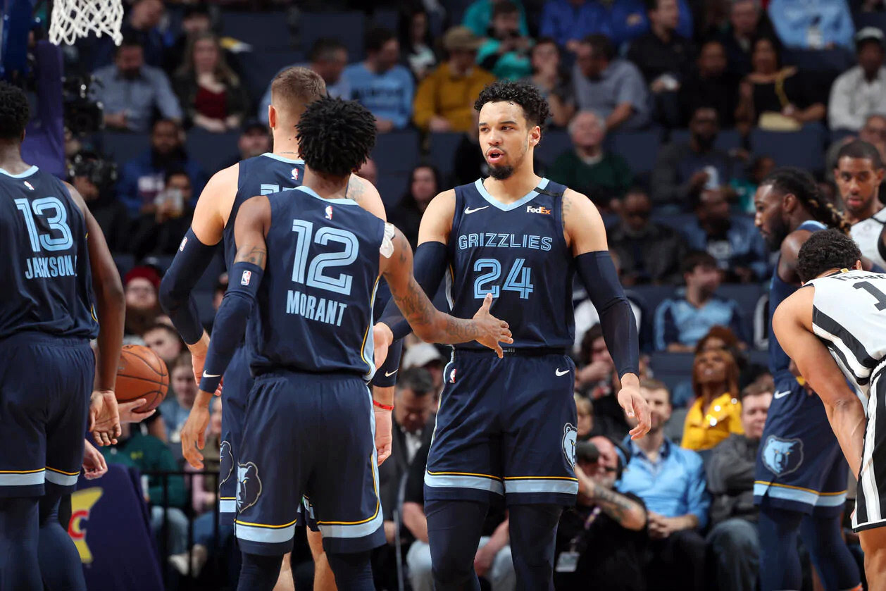 canadian basketball player dillon brooks and ja morant memphis grizzlies