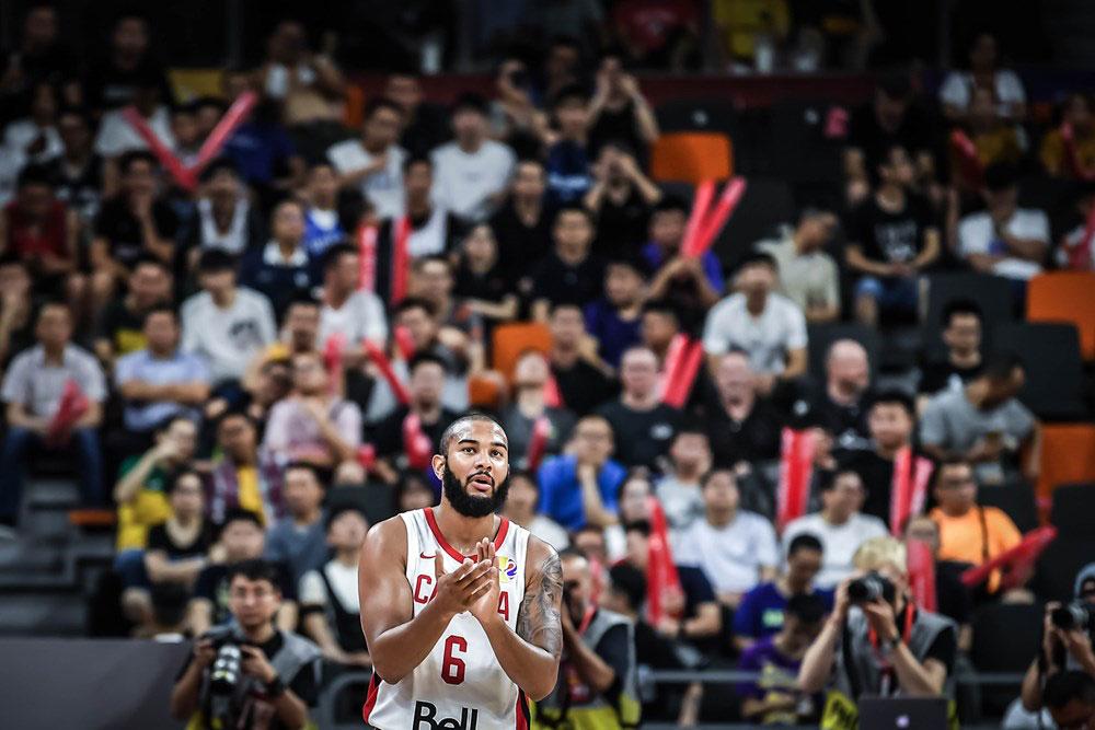 Canadian basketball point guard cory joseph 2019 fiba world cup