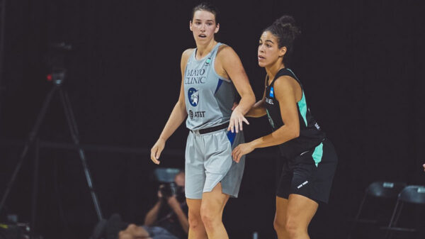 Minnesota Lynx Canadian Forward Bridget Carleton Scores Career-High 25 Points Against Kia Nurse and the New York Liberty
