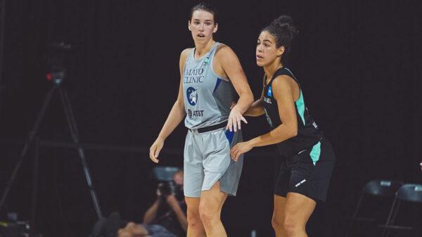 Minnesota Lynx Canadian Forward Bridget Carleton Scores Career-High 25 Points Against Kia Nurse and the New York Liberty