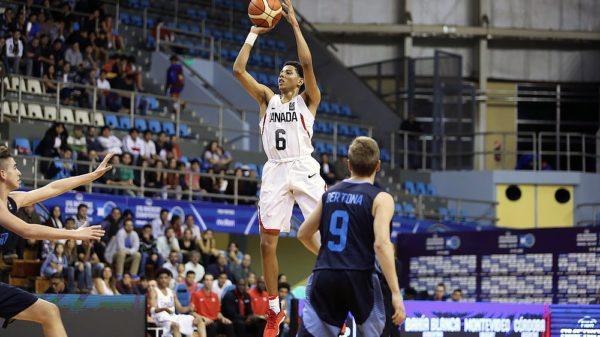 Canadian Cashius Mcneilly 2017 FIBA U16 Americas