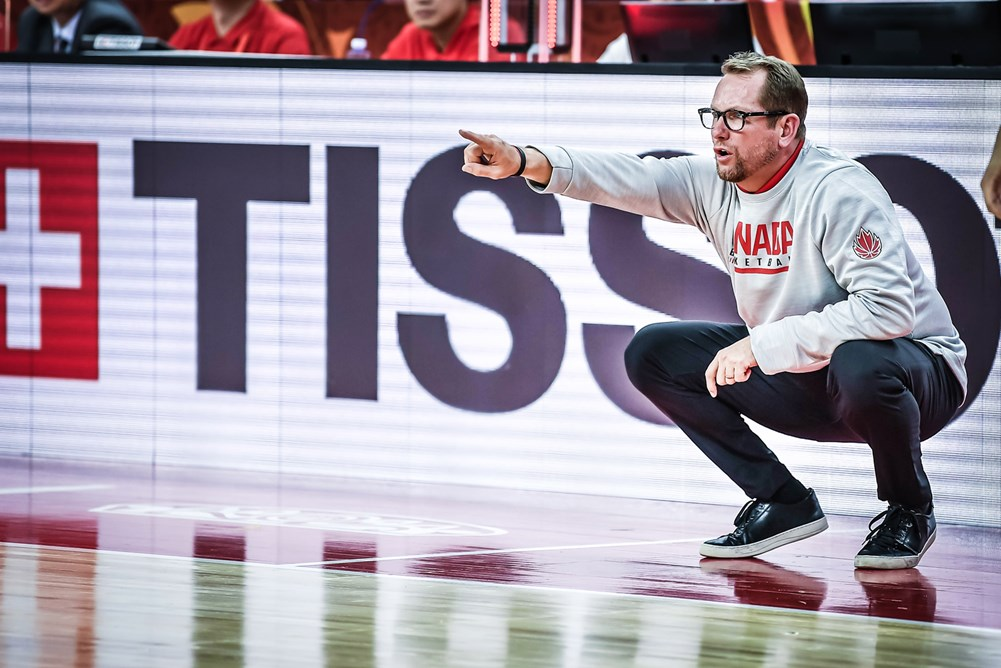 Canadian Head Coach Nick Nurse At 2019 Fiba World Cup