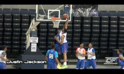 Canadian Justin Jackson Drops The Hammer At 2014 NBPA Top 100 Camp