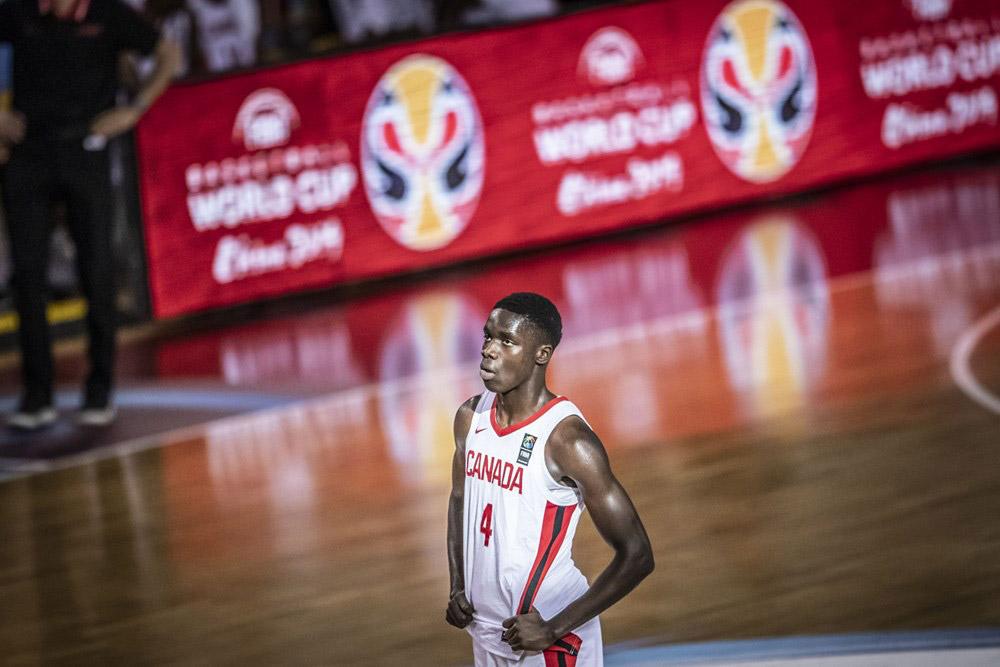 Canadian Karim Mane 2019 FIBA U19 Basketball World Cup