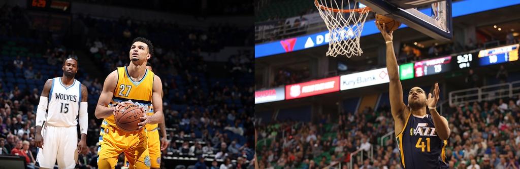 Jamal Murray Trey Lyles NBA All Star Rising Stars Game