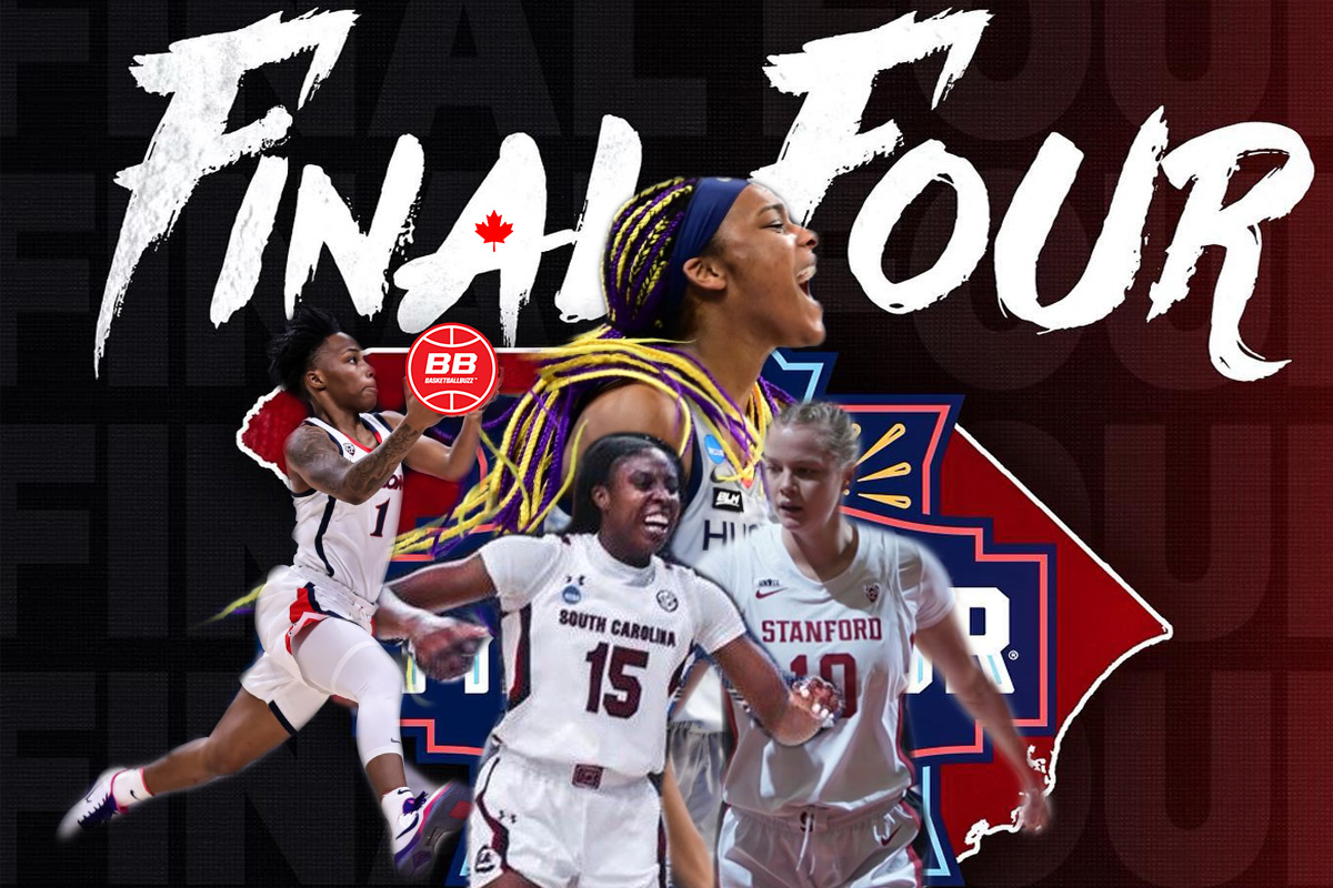 Canadians Take Over 2021 NCAA Women's Final Four - Illustrations