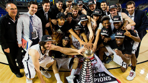 Carleton Ravens Rout Dinos Win Record 12 & 6 Straight CIS Basketball Championship