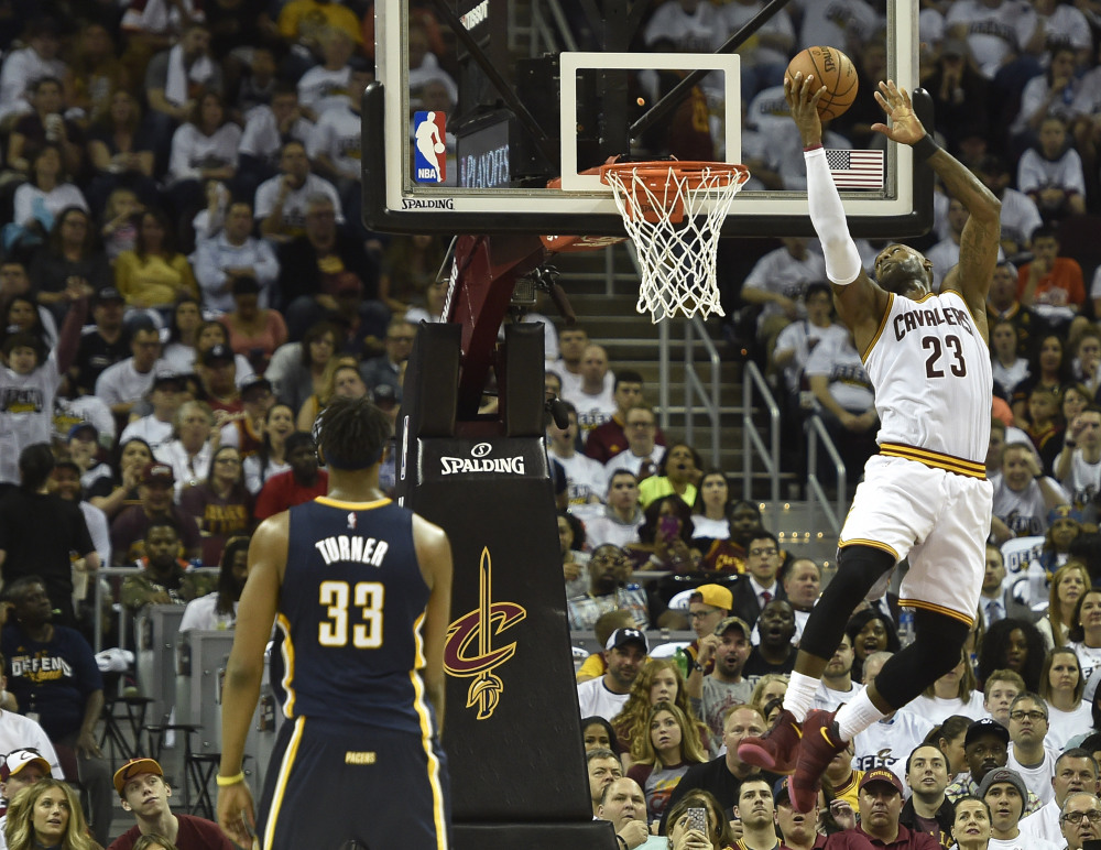Cavs Keep Pace With Indiana In NBA Playoffs Game 1