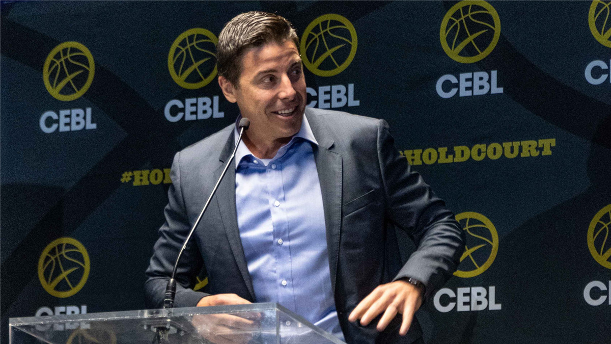 Cebl Canadian Elite Basketball League Commissioner Mike Morreale