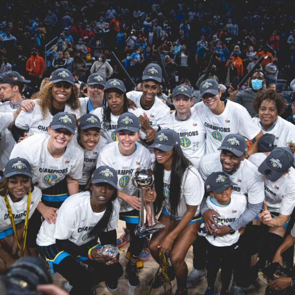 Chicago Sky Reach Their First WNBA Finals Championship Win