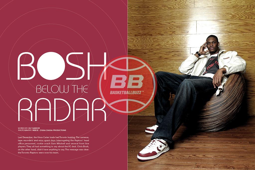 Chris Bosh Below The Radar Basketballbuzz Magazine 2006