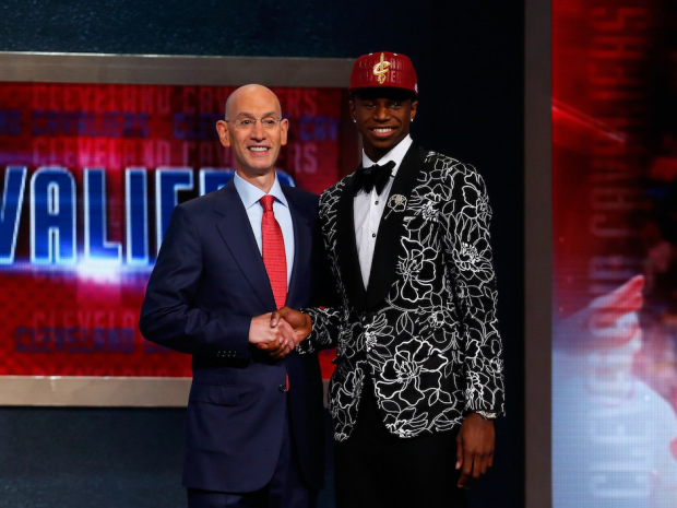 Cleveland Cavaliers select Canadian Andrew Wiggins with first overall pick of 2014 NBA Draft