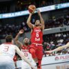 Cory Joseph Floater Canada Gets Big Win Over Turkey To Start 2016 Fiba Olympic Qualification Tournament