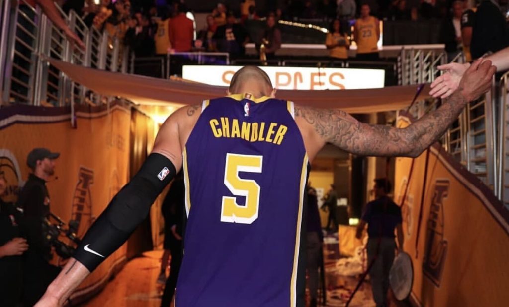Could Tyson Chandler BE Anymore Of A Front-court Knockout For The Lakers?